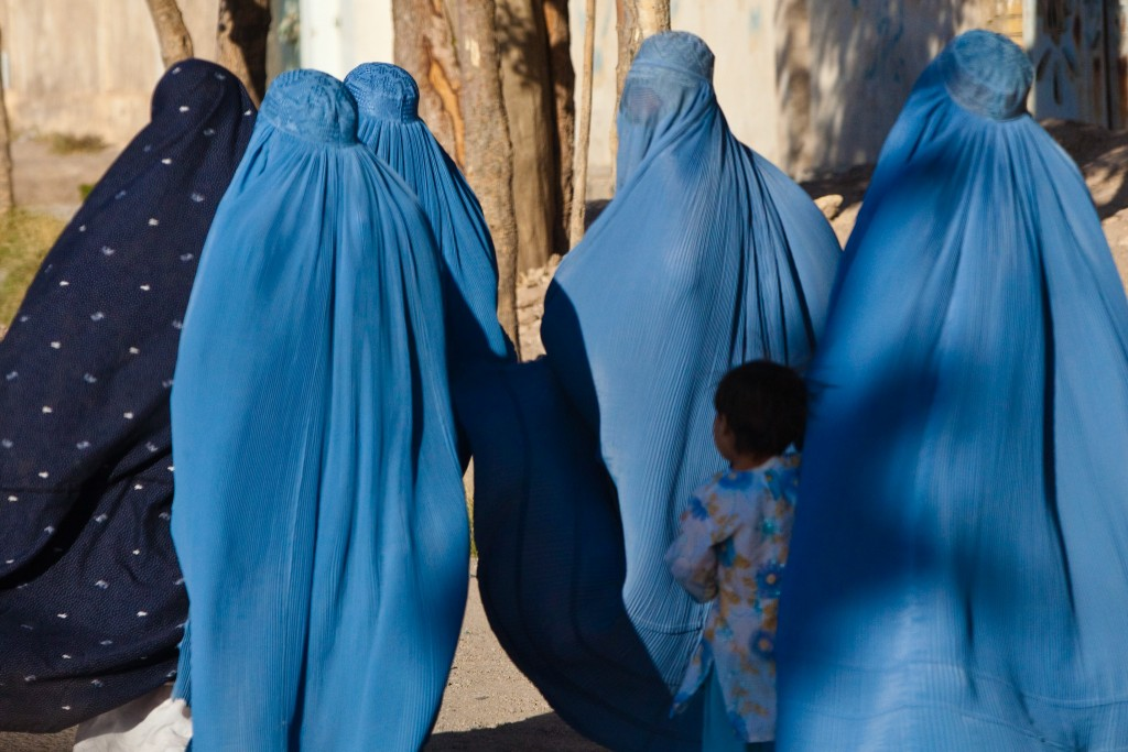 Woman and Children, Herat, Afghanistan
