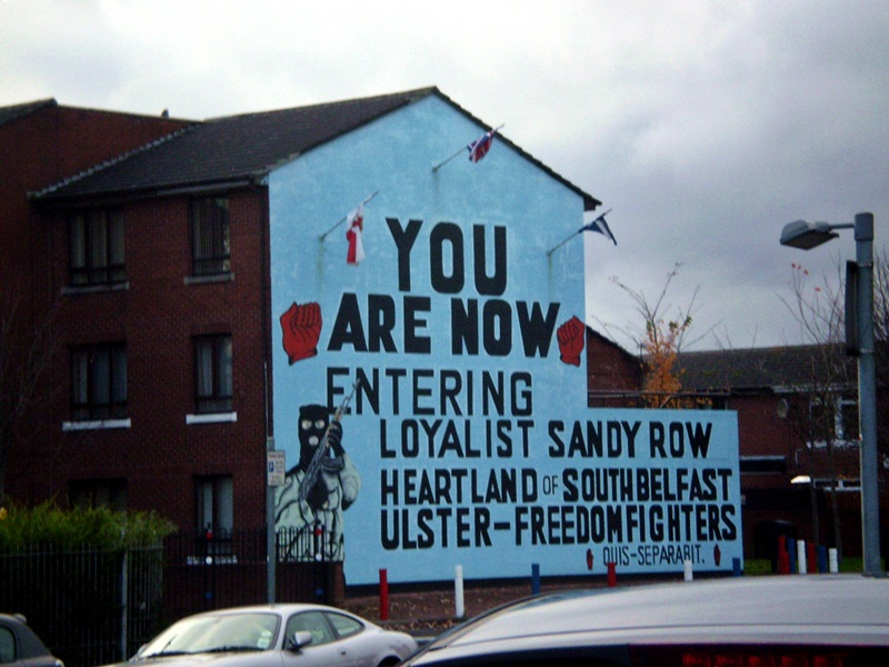 mural belfast irlanda do norte