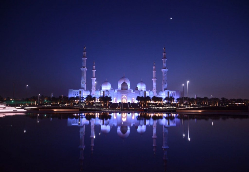 grand mosque sheikh zayed abu dhabi mesquita