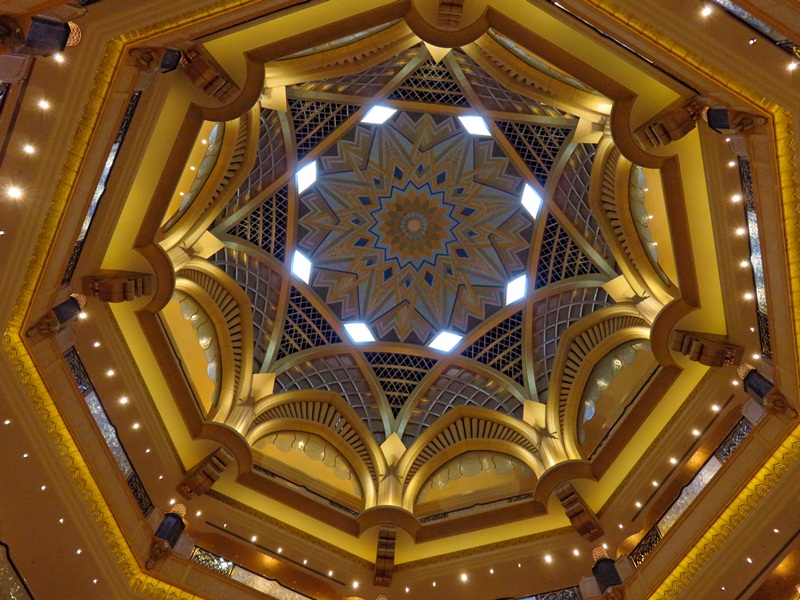 cúpula central dome emirates palace